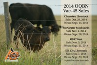 Fall sales dates scheduled for OQBN
