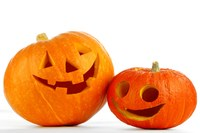 Safely decorating with pumpkins
