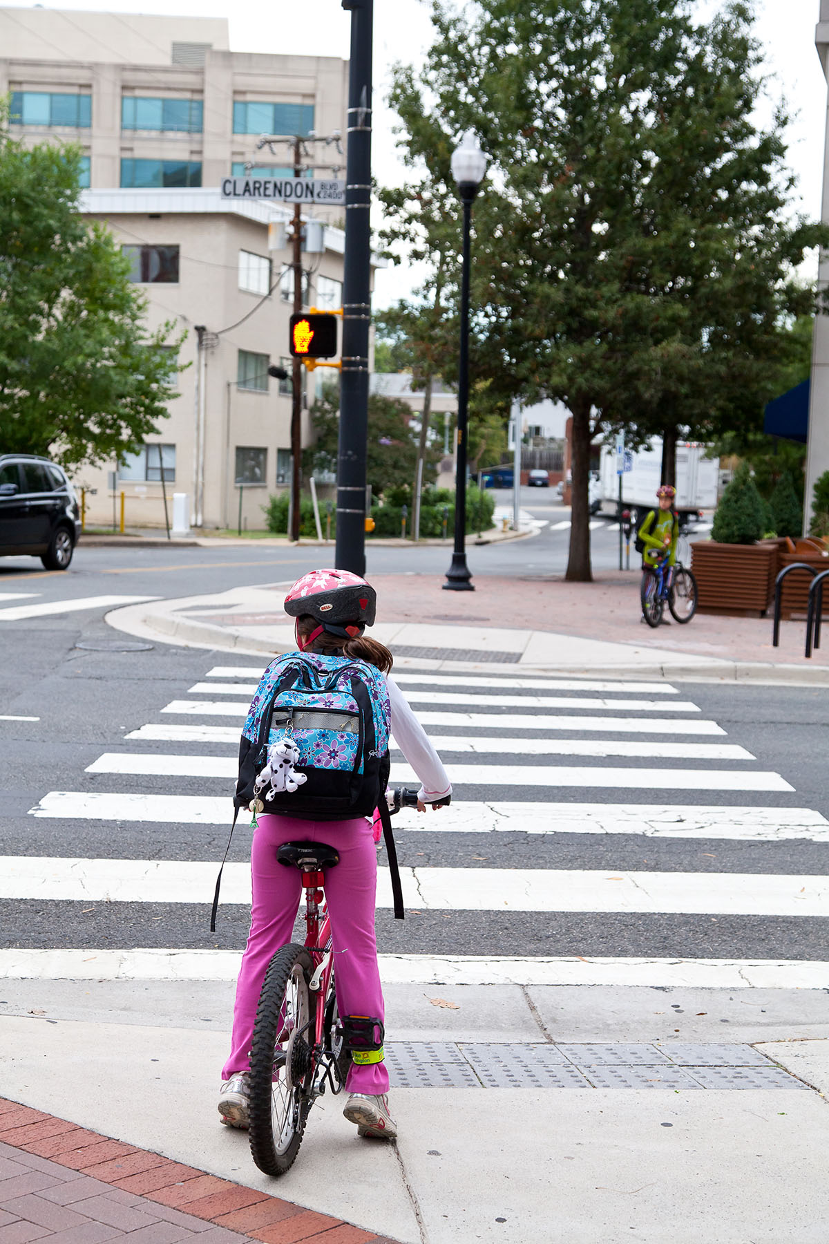 Safely walking and riding a bicycle to school