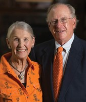 Dick and Malinda Berry Fischer celebrated by Oklahoma State