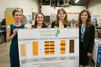 Landfill Ladies work toward solving real-life issues
