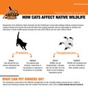 Me-ouch: The impact of cats on native wildlife species
