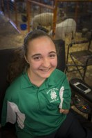 4-H'er overcomes obstacles in the show ring and in life