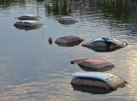 Flood-damaged vehicles may soon flood the market