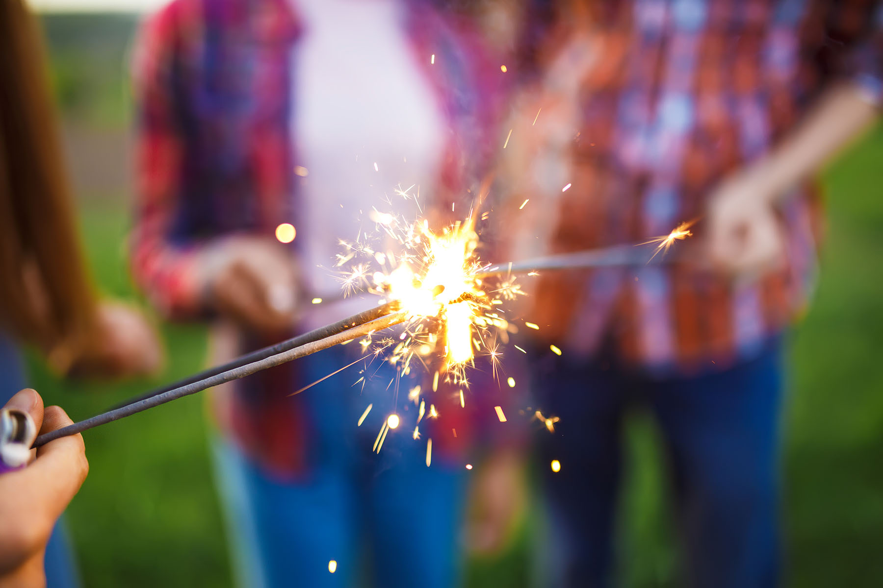 Have fun, but be safe with fireworks