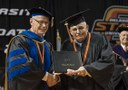 Finish what you start: OSU graduate walks across stage 48 years after earning degree