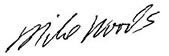 Mike Woods Signature